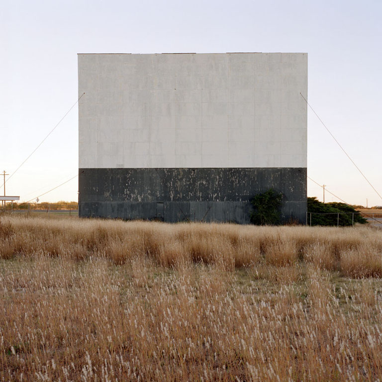 JEFF BROUWS,  Quanah, Texas  (from the series Color Drive-In Theaters), 1996