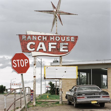 JEFF BROUWS   Ranch House Cafe, Route 285, Vaughn, New Mexico, 1997