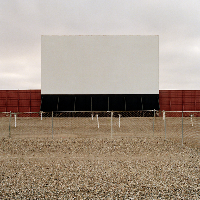 JEFF BROUWS    Quanah, Texas (from the series Color Drive-In Theaters), 1996