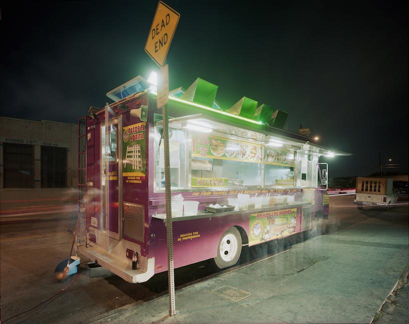 JIM DOW   Tacos El Korita, Maywood, California, 2009