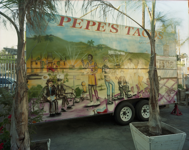 JIM DOW Pepe's Tacos, Jefferson Park, Los Angeles, California, 2008