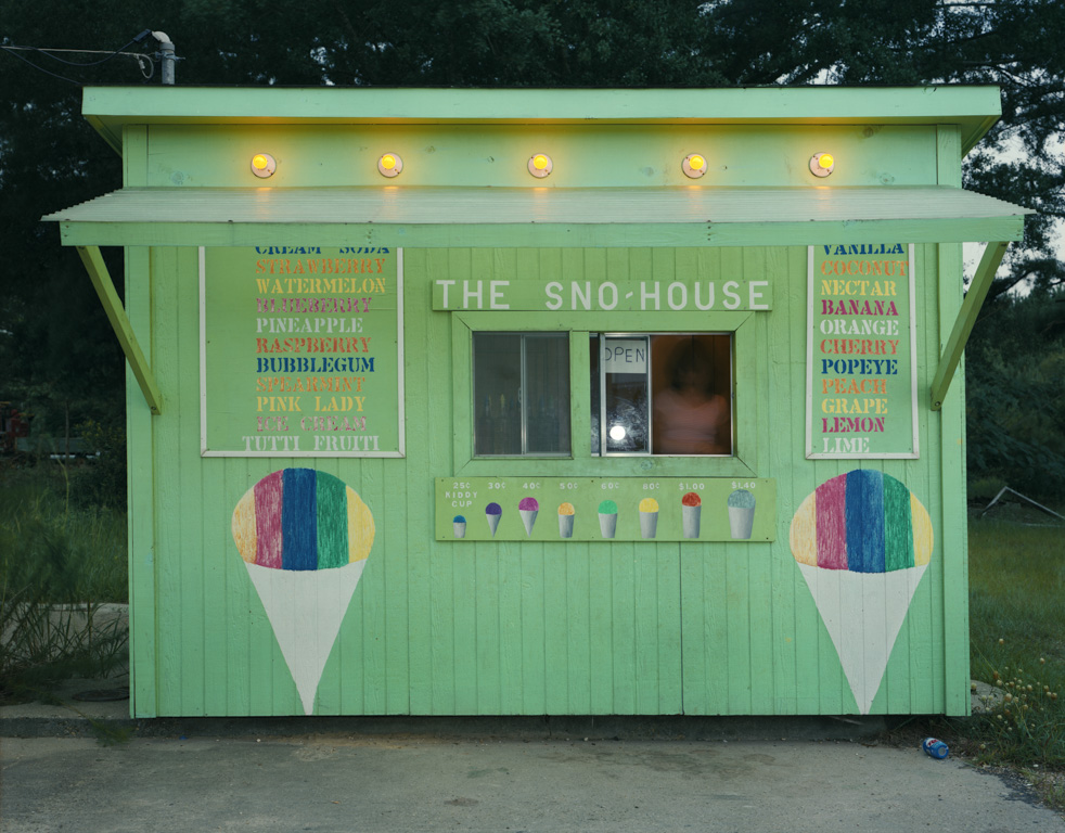 JIM DOW   The Sno House, US 11, Moselle, MS, 1981