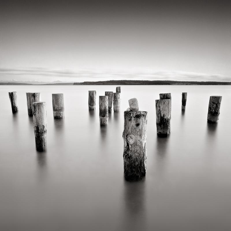 DAVID FOKOS,  Balanced Stones,  Port Townsend, Washington, 2002