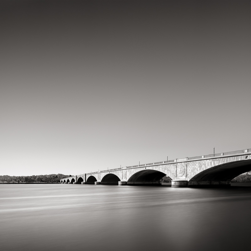 DAVID FOKOS   Arlington Memorial Bridge, Washington, D.C., 2011