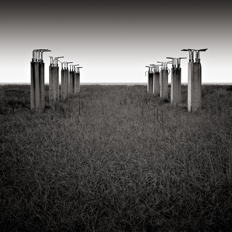 DAVID FOKOS,  Unfinished Pier,  San Luis Pass, Texas, 2005