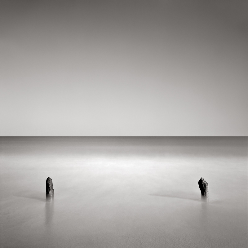 DAVID FOKOS,  Two Poles,  Chilmark, Massachusetts, 2001