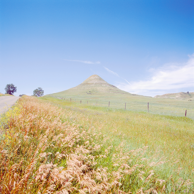KAREN HALVERSON Sentinel Butte, North Dakota (from the series Dakota Survey), 2011