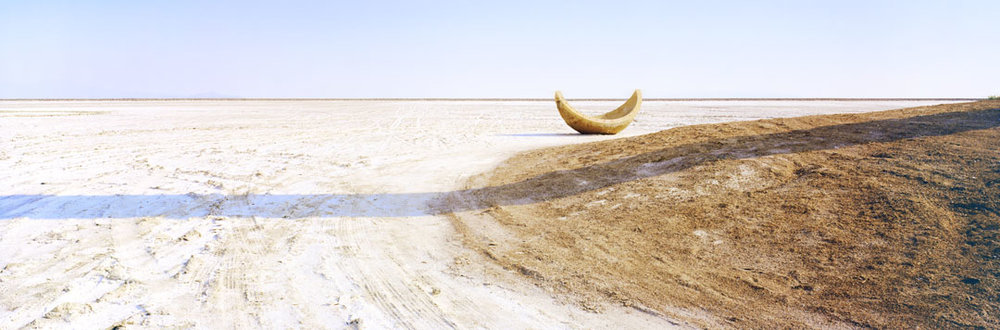 KAREN HALVERSON The Great Salt Desert, Utah (from the series Basin & Range), 2002