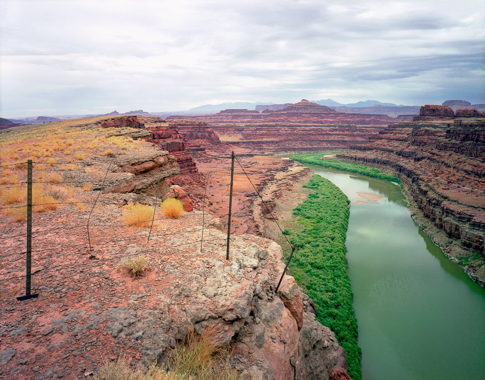 KAREN HALVERSON Shafer Trail, Moab, Utah (from the series Colorado River), 1994