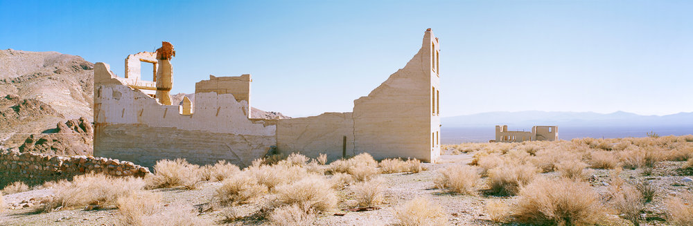 KAREN HALVERSON   Rhyolite, Nevada (from the series Basin & Range), 2004