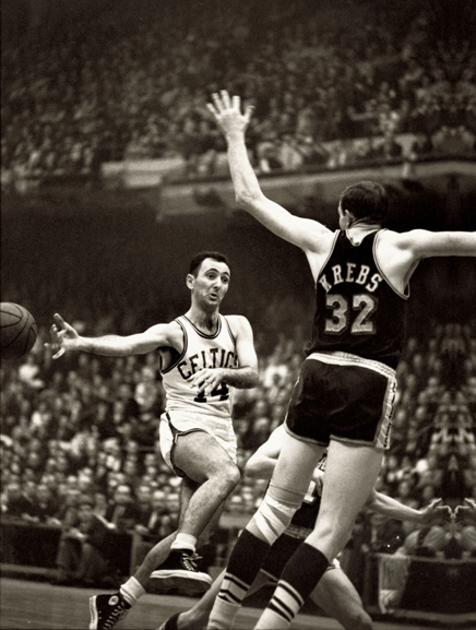 WALTER IOOSS,  Bob Cousey , Boston, MA, 1962