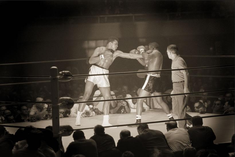 WALTER IOOSS Ali vs Patterson #1, Las Vegas, NV, 1965