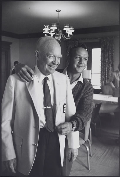 WALTER IOOSS Palmer and Ike, PA, 1965
