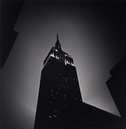 MICHAEL KENNA,  Empire State Building, Study 4 , New York, New York, 2007