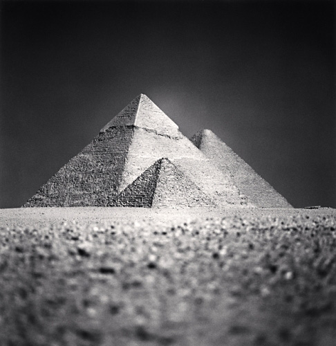 MICHAEL KENNA,  Giza Pyramids, Study 5 , Cairo, Egypt, 2009