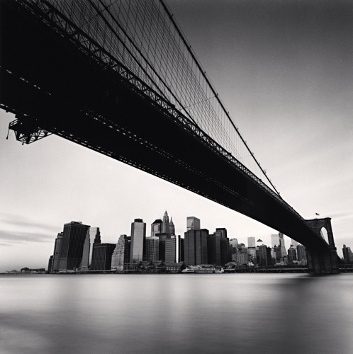 MICHAEL KENNA Brooklyn Bridge, Study 1, New York, New York, 2006