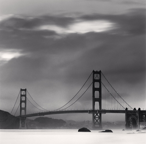 MICHAEL KENNA   Golden Gate Bridge, Study 13, San Francisco, California, 1990