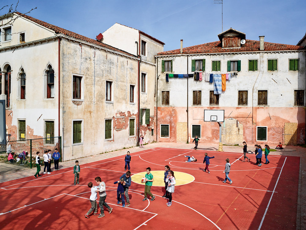 JAMES MOLLISON,  Ugo Foscolo Elementary School, Murano, Venice,  March 21, 2014