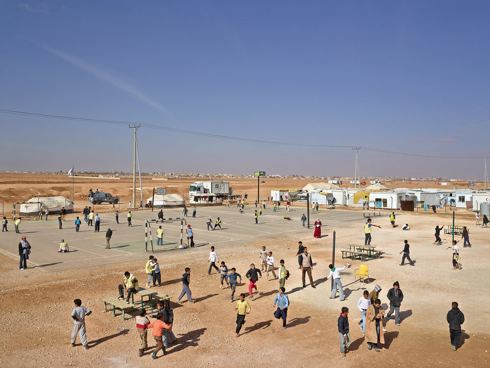 JAMES MOLLISON,  Adolescent Safe Space, Site 5 District 12, Zaatari Refugee Camp, Jordan, January 23, 2014