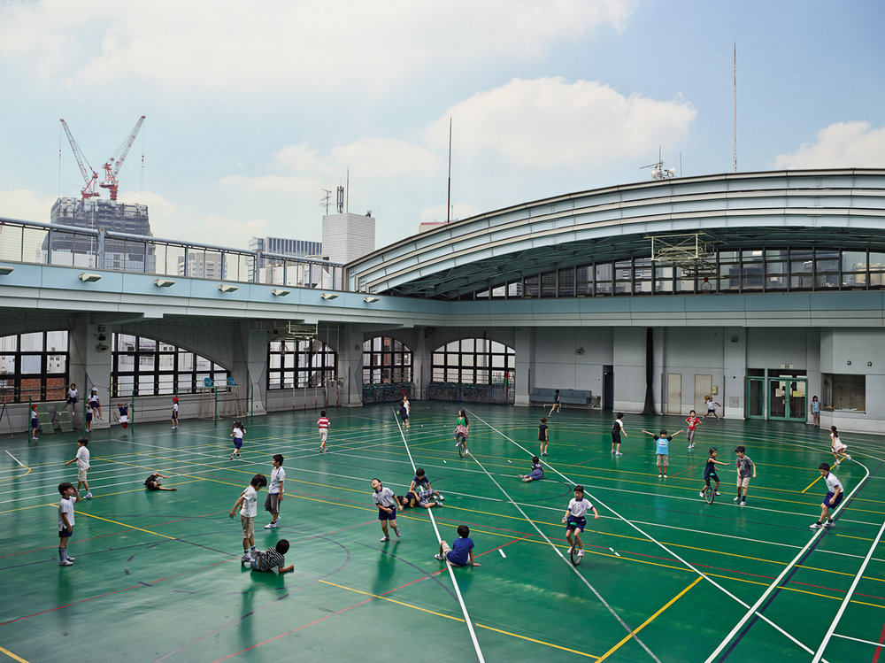 JAMES MOLLISON,  Shohei Elementary School, Tokyo, Japan, September 8, 2011