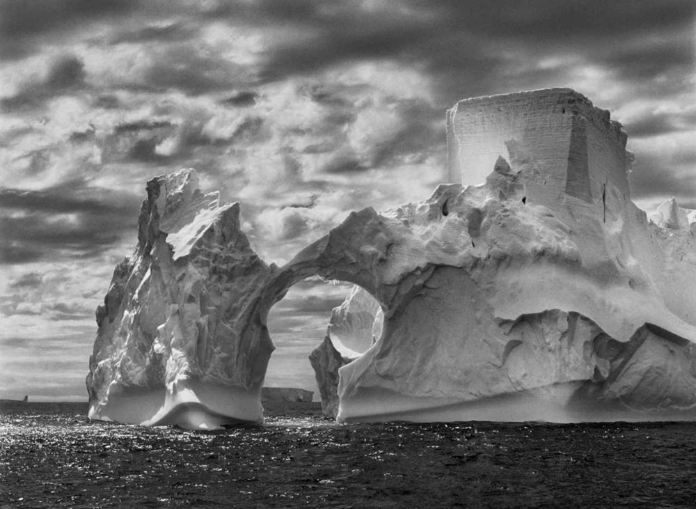 SEBASTIÃO SALGADO,  Iceberg,  Arctic Peninsula, 2005