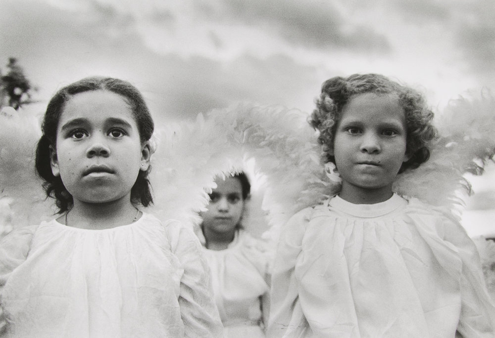SEBASTIÃO SALGADO Three Communion Girls, Brazil, 1981