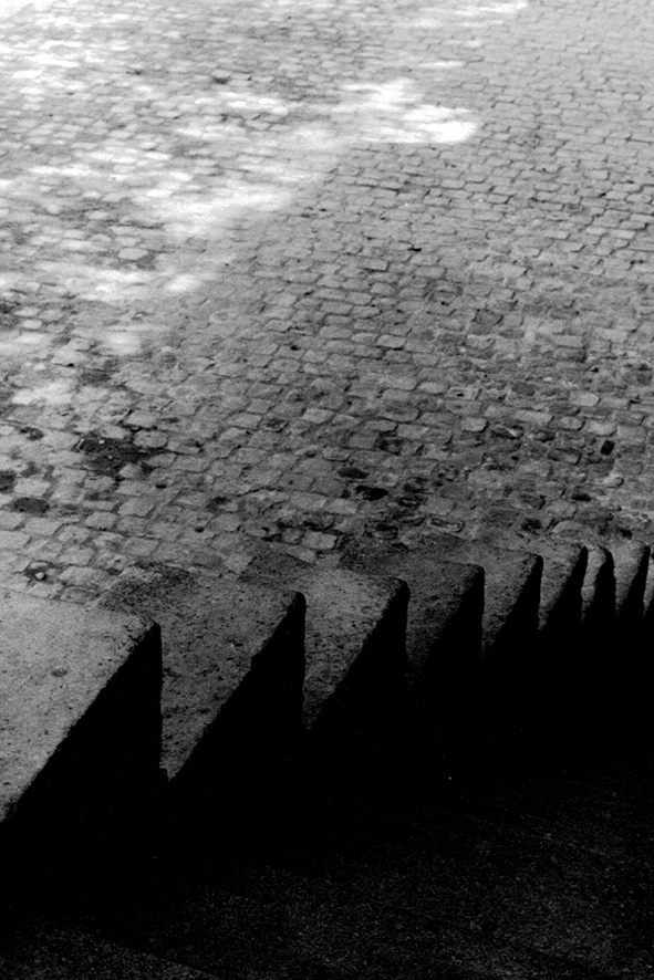 """TOMIO SEIKE Quai Montebello, """"Daysteps,"""" Paris, 1991"""