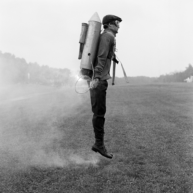 RODNEY SMITH,  Rocketman , Rhinebeck, New York, 2009