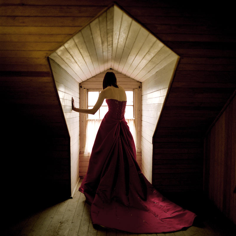 RODNEY SMITH Woman in Window, Hancock Shaker Village, MA, 2005