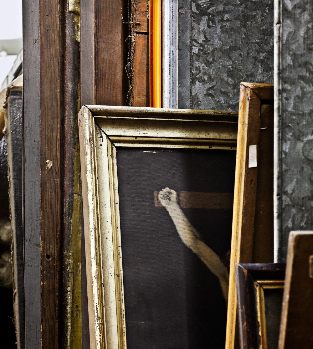 Paintings on Galvanized Shelves # 3.jpg