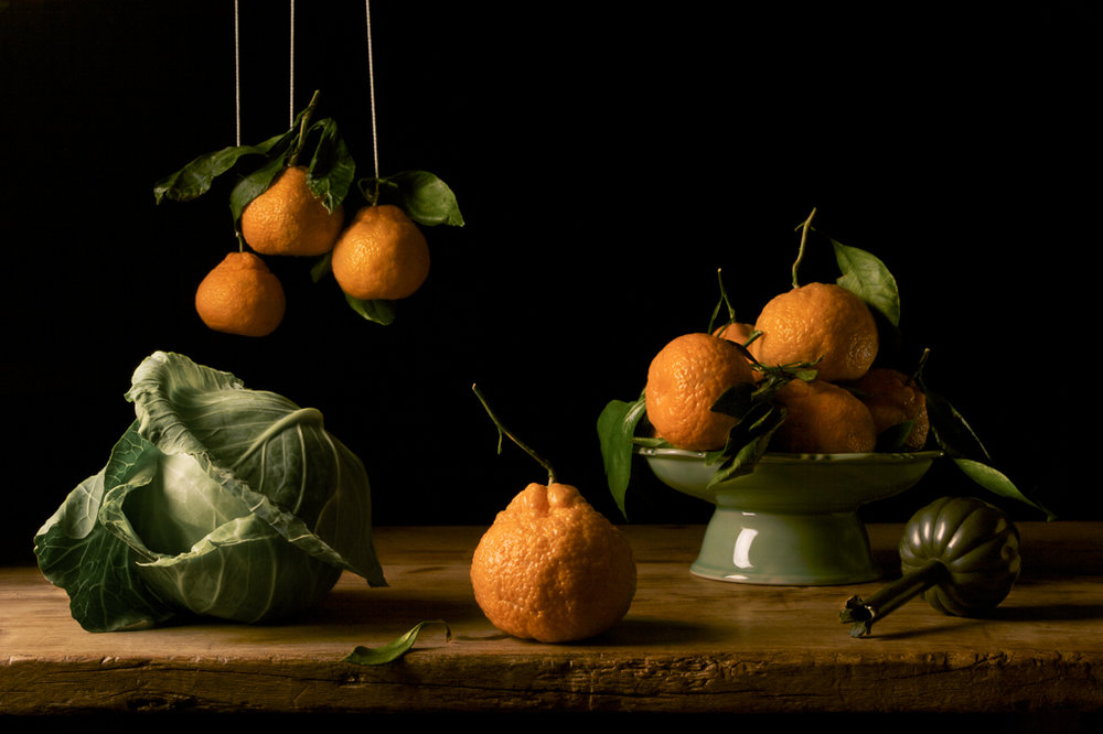 PAULETTE TAVORMINA Oranges, after F.D.Z (from the series Natura Morta), 2009