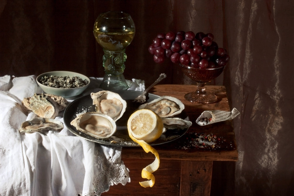 PAULETTE TAVORMINA Oysters & Lemon, after W.C.H. (from the series Natura Morta), 2008