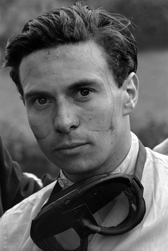JESSE ALEXANDER Jim Clark, Grand Prix of Belgium, Spa-Francorchamps, 1962