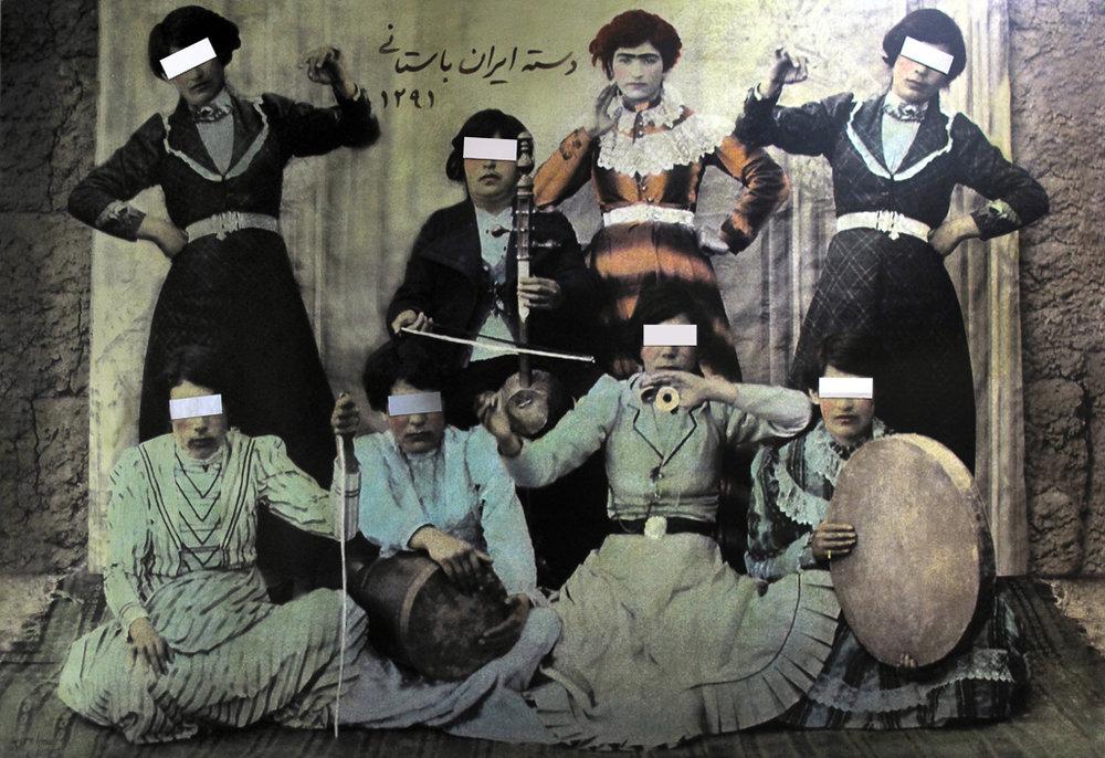 SAMIRA ALIKHANZADEH No. 1 (from the series Centennial), 2013