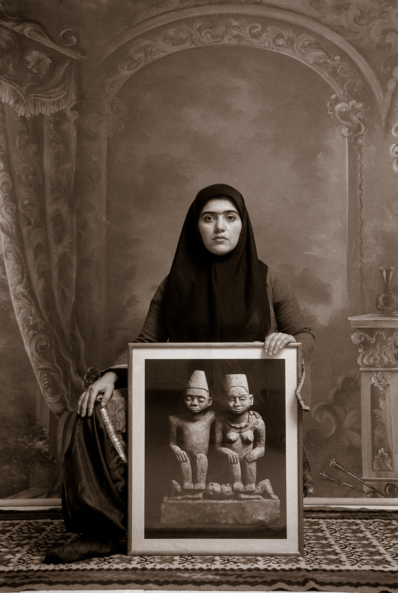 SHADI GHADIRIAN,  Qajar #20,  1998