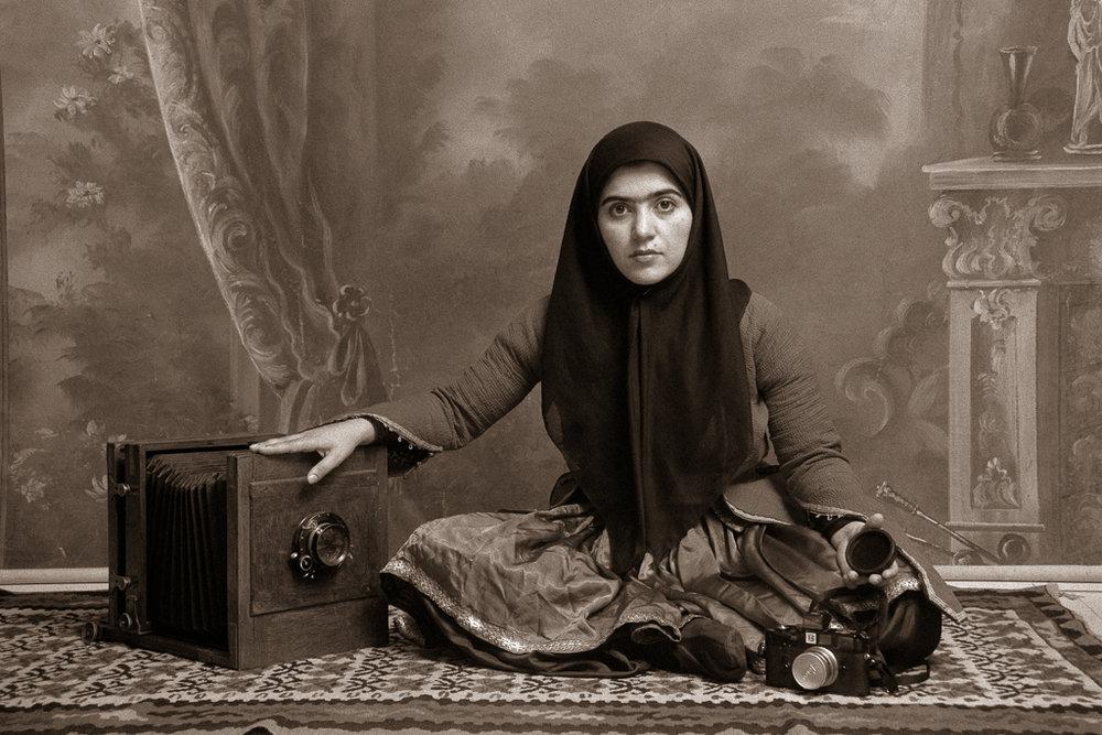 SHADI GHADIRIAN,  Qajar #19,  1998