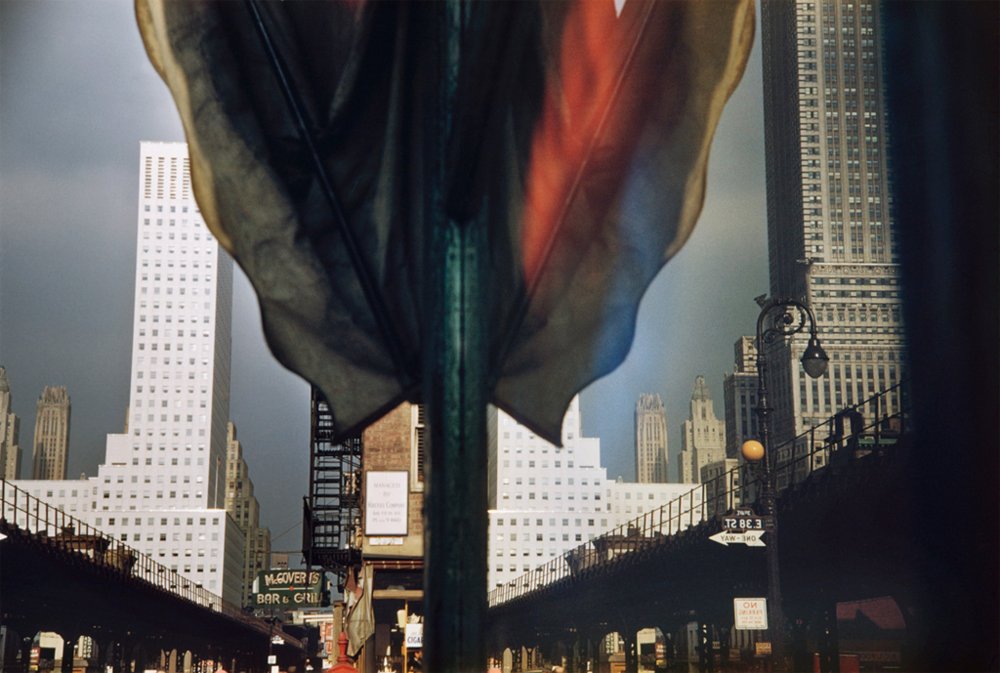 ERNST HAAS,  New York City,  1952