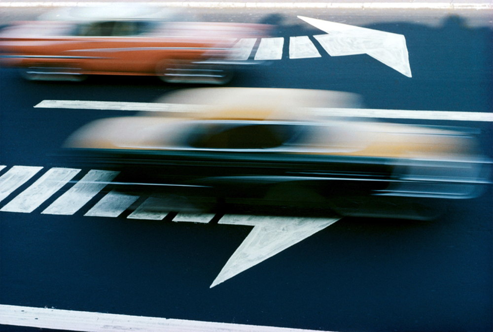 ERNST HAAS,  New York City,  1963