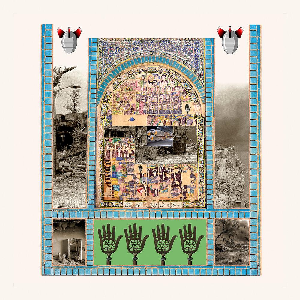RANA JAVADI,  Never Ending Chaos 6 , 2013