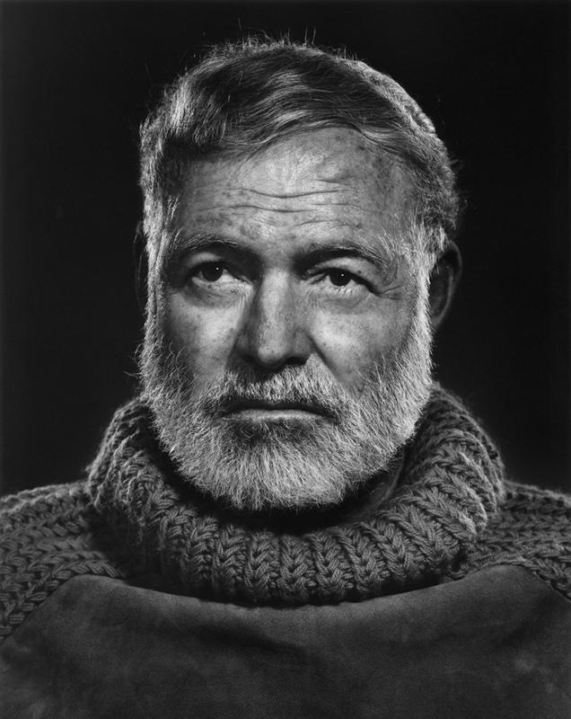 YOUSUF KARSH,  Ernest Hemingway , 1957