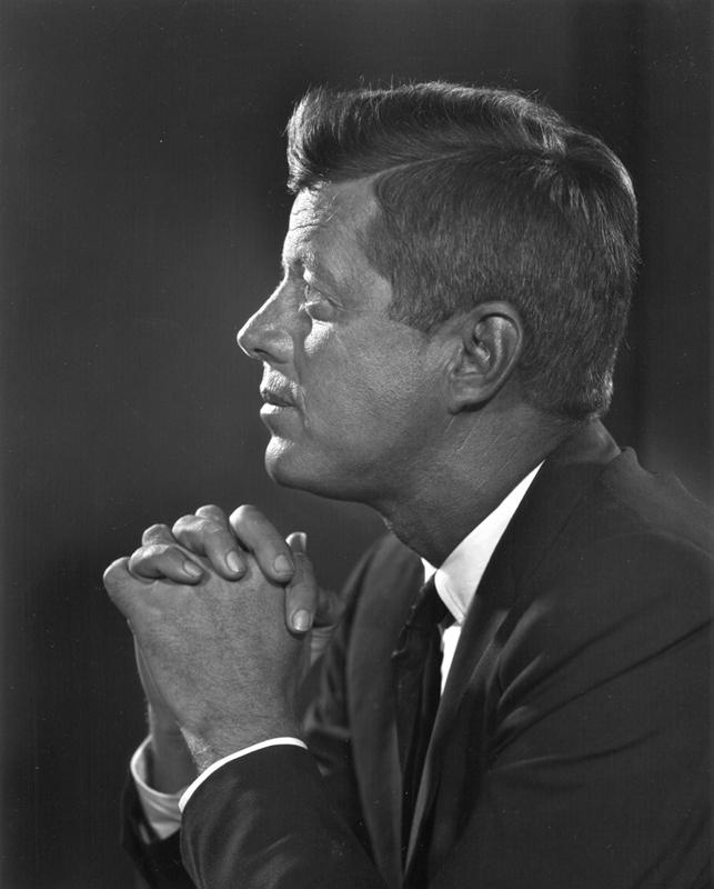 YOUSUF KARSH,  John F. Kennedy,  1960