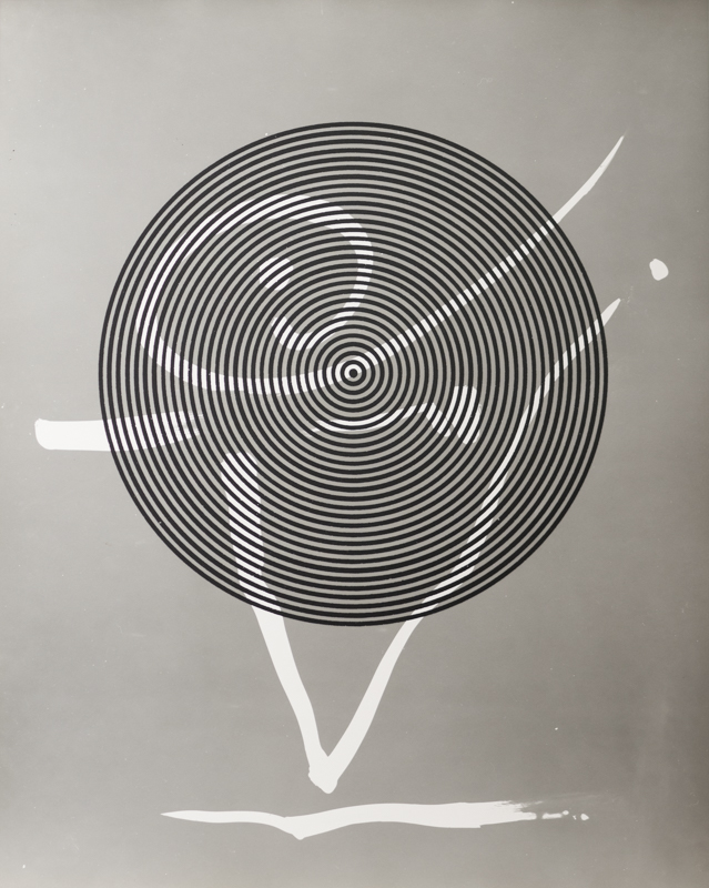 GYÖRGY KEPES,  Graphs Through Circles , 1981