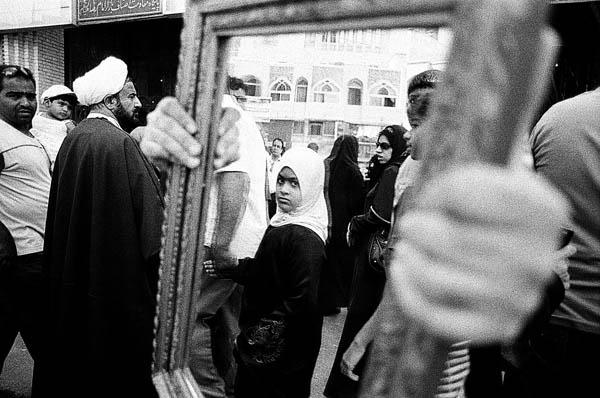 TAHMINEH MONZAVI,  Mirrors of Mashhad 7