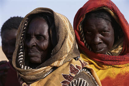 Refugees from Darfur: Bahai Refugee Camp, October 2004