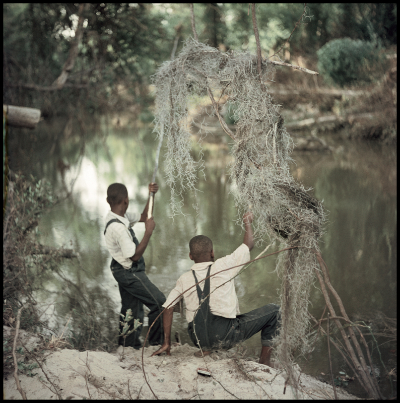 GORDON PARKS,  Untitled  (Boys Fishing), Shady Grove, Alabama, 1956                                                                                                          © The Gordon Parks Foundation