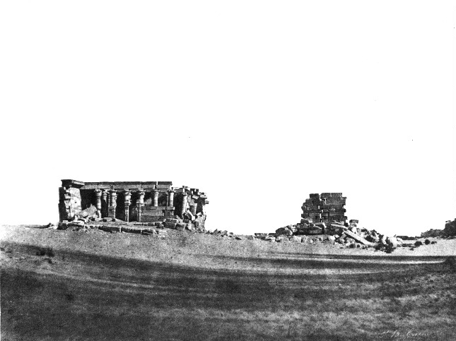 JOHN BEASLEY GREENE,  Temple of Maharakka, Nubia,  1853-54