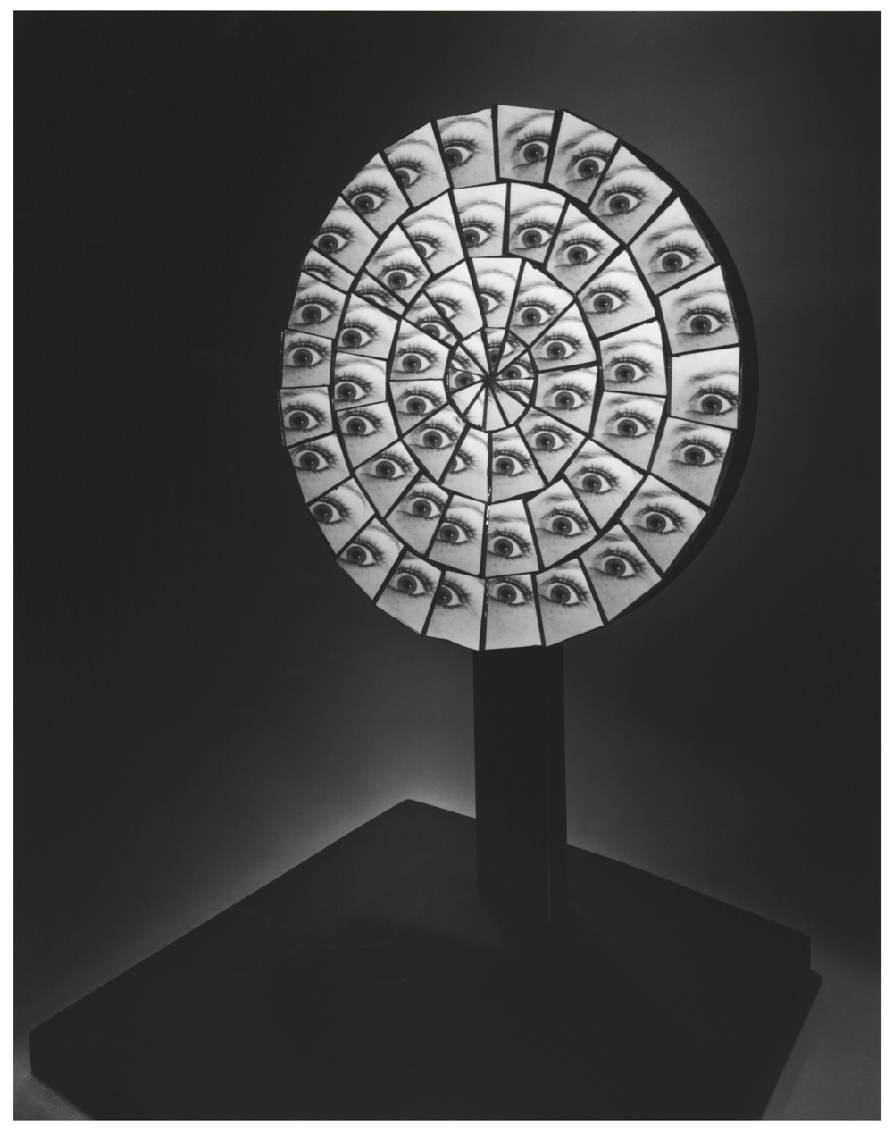 BERENICE ABBOTT,  Parabolic Mirror, 1958