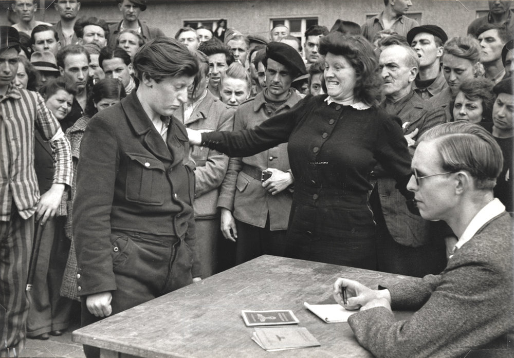 HENRI CARTIER-BRESSON Gestapo Informer Identified, Dessau, Germany, 1945