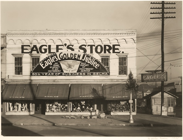 WALKER EVANS Eagle's Store, Selma, Alabama, 1935