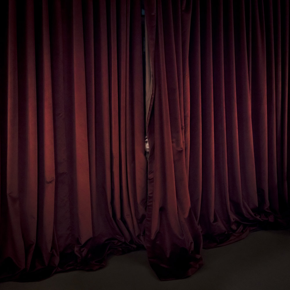 CIG HARVEY, Red Curtain, 2017